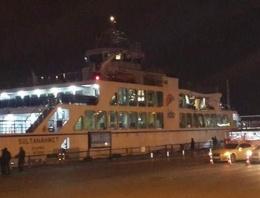 İstanbul Bogazı'nda korkutan kaza!