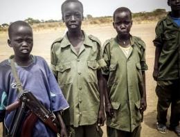 O ülkede 10 bin çocuk asker var
