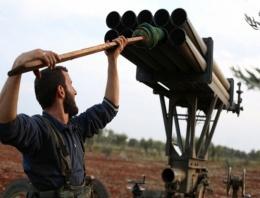 'İslami Cephe' saldırdı! Suriye'de füzelerin savaşı...
