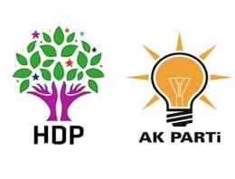 2015 genel seçimi için olay AK Parti-HDP iddiası