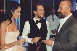Ünlü çiftin nişan yüzükleri Muhteşem Süleyman'dan!