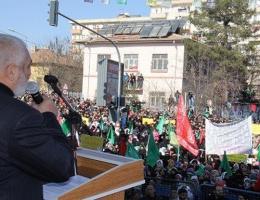Diyarbakır'da bu sloganı attılar!
