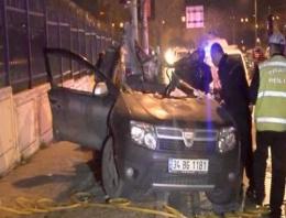 Bakırköy'de korkunç kaza
