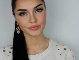 Kürt kızından Kardashian makyajı!