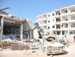 Kobani'de son durum o tepeye Kürt karargahı