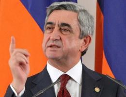 Sarkisyan'dan Erdoğan'a ağır yanıt