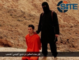 IŞİD son dakika o gazeteyi infaz edildi