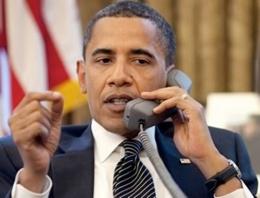 Obama'dan kritik telefon!
