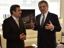 Ahmedinejad'dan Abdullah Gül sürprizi!