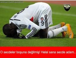 Beşiktaş tur atladı capsler coştu