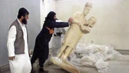 IŞİD'in parçaladığı o heykeller meğer...