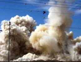 Adliye binası çevresinde patlama ölü ve yaralı var