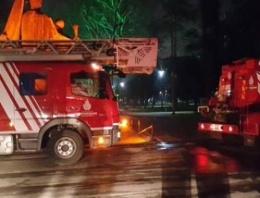 İstanbul Üniversitesi'nde yangın! FLAŞ