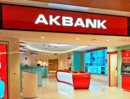Akbank'a veda Akbank hisseleri sert düştü
