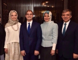 Gül'ün Ayşe Zehra Karadere ile ilk resmi!