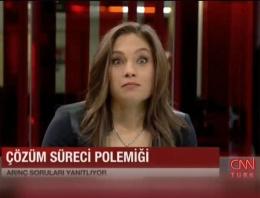 Arınç CNN Türk spikerini de şaşkına çevirdi!