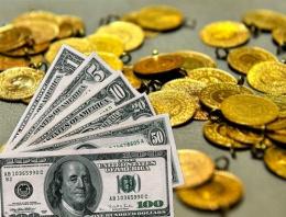 Dolar kuru ve altın fiyatları bugün yükseldi