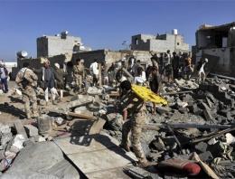 Yemen'de son durum!  bomba yağdı