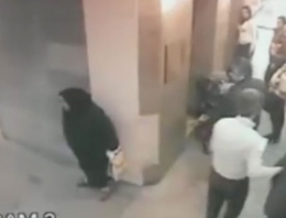 Hastanede herkesin önünde tuvaletini yaptı!