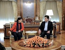 Abdullah Öcalan'ın mesajı Barzani'de