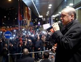 Erdoğan'dan Slovenya mitingi!