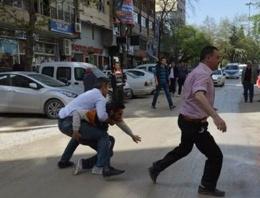 HDP lokali açılışında olaylar çıktı