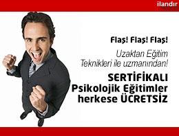 Sertifikalı Psikoloji Dersleri Herkese Ücretsiz