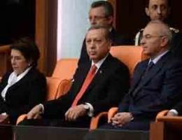 Erdoğan'ı TBMM'de alkışlamadılar!