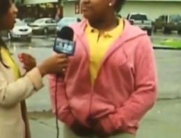 Röportaj sırasında altına kaçırdı!