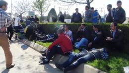 Gaziantep'te korkunç kaza yaralılar yollara saçıldı