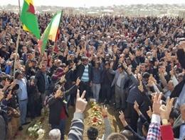 PKK'lı cenazesinde yine olaylar çıktı