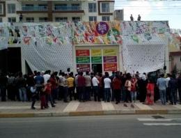 Mardin'de Erdoğan'a ilginç protesto!