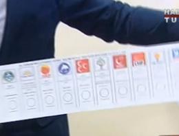 İşte 7 Haziran seçimleri oy pusulası