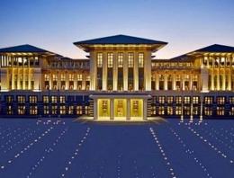 Cumhurbaşkanlığı Sarayı için flaş karar!