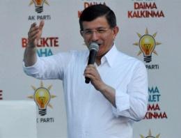 Davutoğlu: HDP'ye destek verenlerin...