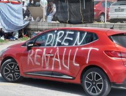 İşçi eylemleri son durum Renault sert uyarı