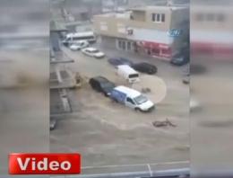 İzmir'i şoka sokan sel görüntüsü inanılmaz