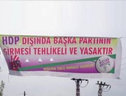 HDP'nin bu afişi tepkilere neden oldu