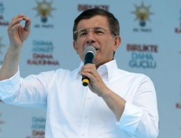 Davutoğlu'ndan Sakarya mitinginde önemli açıklamalar