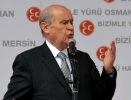 Devlet Bahçeli Erdoğan'ı hedef aldı