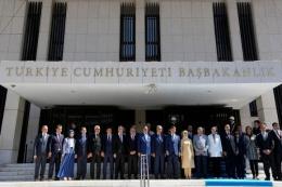 İzmir Başbakanlık Ofisi açılışı