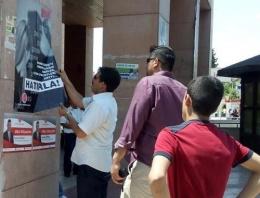 Erdoğan için Urfa'da MHP afişleri söküldü!