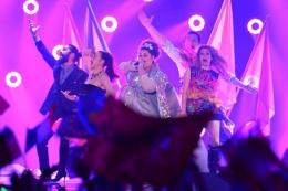 Eurovision 2015 şarkı yarışmasından kareler