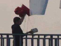 'Bombacı Mülayim' Şişli'de ortaya çıktı