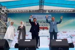 Hakkari Yüksekova Havalimanı açılış töreninden kareler