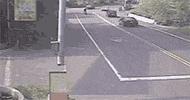 Feci kaza saniye saniye görüntülendi