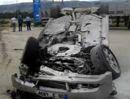 CHP milletvekili adayı kaza geçirdi!