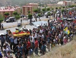 PKK cenazesinde HDP'lilerden önlem