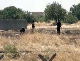 IŞİD kazma kürek Türkiye sınırına geldi