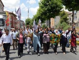 Kobani'de ölen YPG'li İstanbul'da uğurlandı!